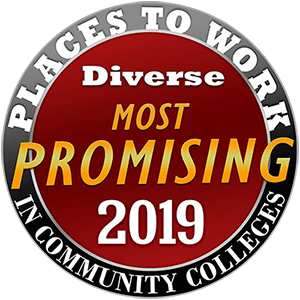 Most-promising diverse places to work in community colleges - 2019