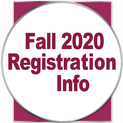 Fall 2020 Registration Info
