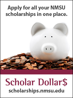 Apply for all your NMSU scholarships in one place: scholarships.nmsu.edu